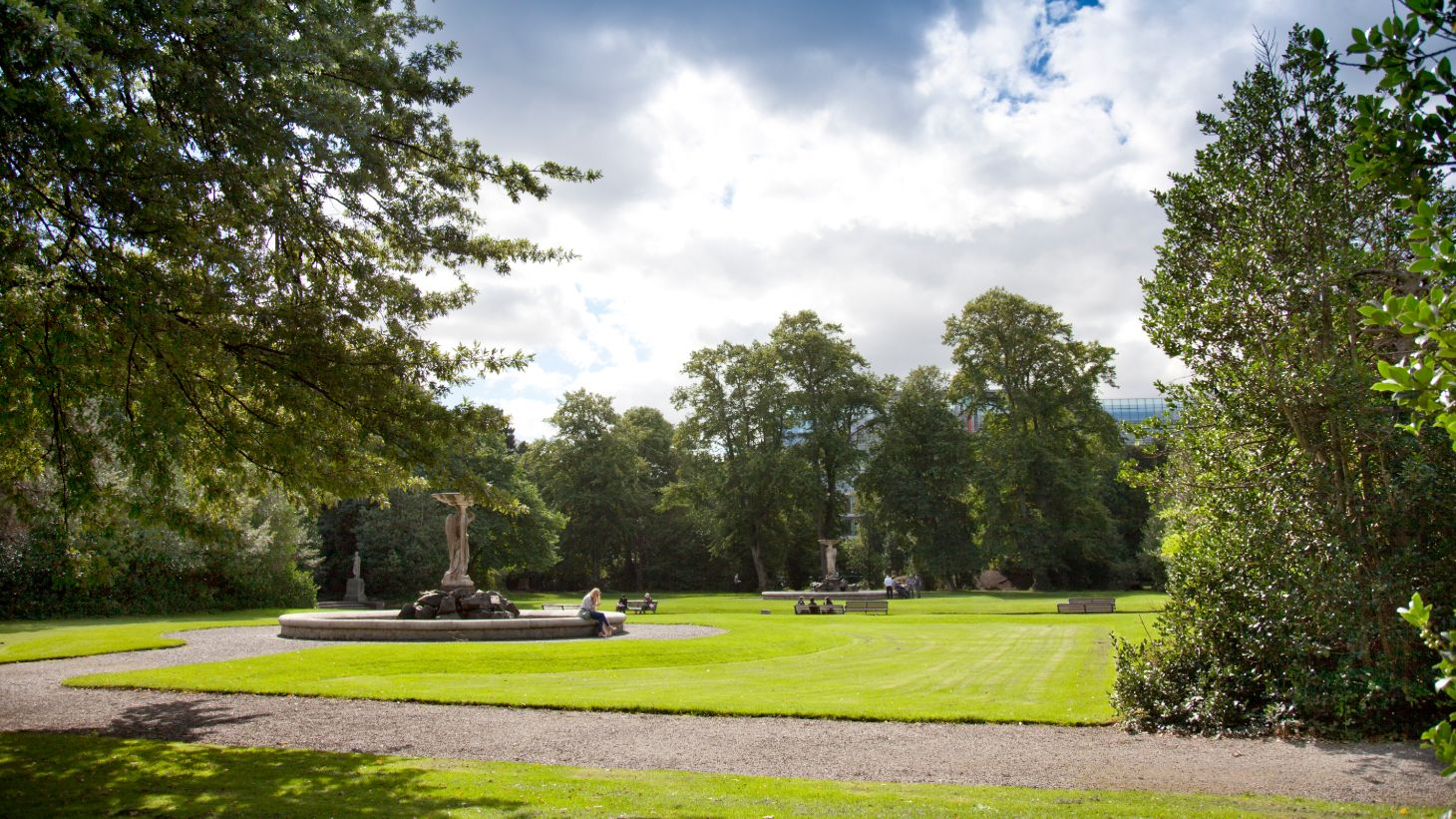 Enjoy an oasis in the city at the Iveagh Gardens.