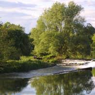 Image of Clashganny Lock along The Barrow Way in Borris in County Carlow
