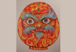 Online Daruma Doll Drawing Tutorial
