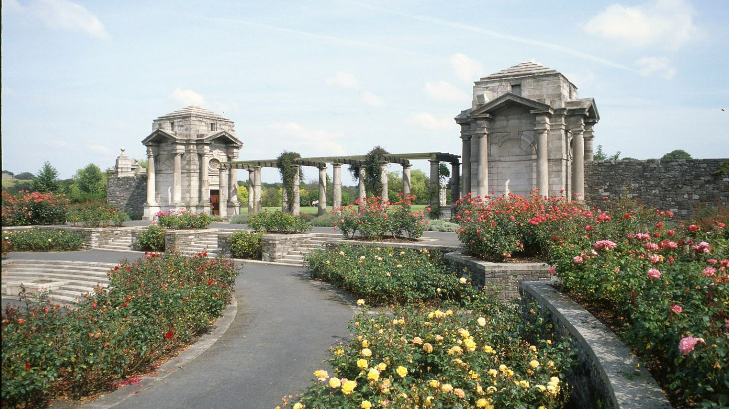 Visit the War Memorial Gardens.