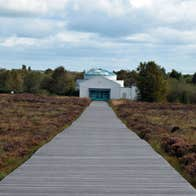 Corlea Trackway visitor centre near to the Royal Canal Greenway