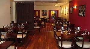 Floor view at the Oak Room restaurant