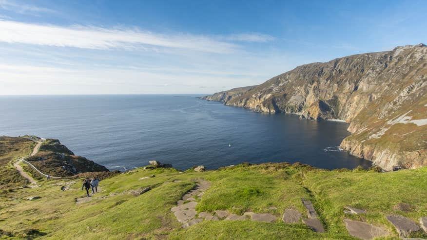 See the spectacular Slieve League sea cliffs.