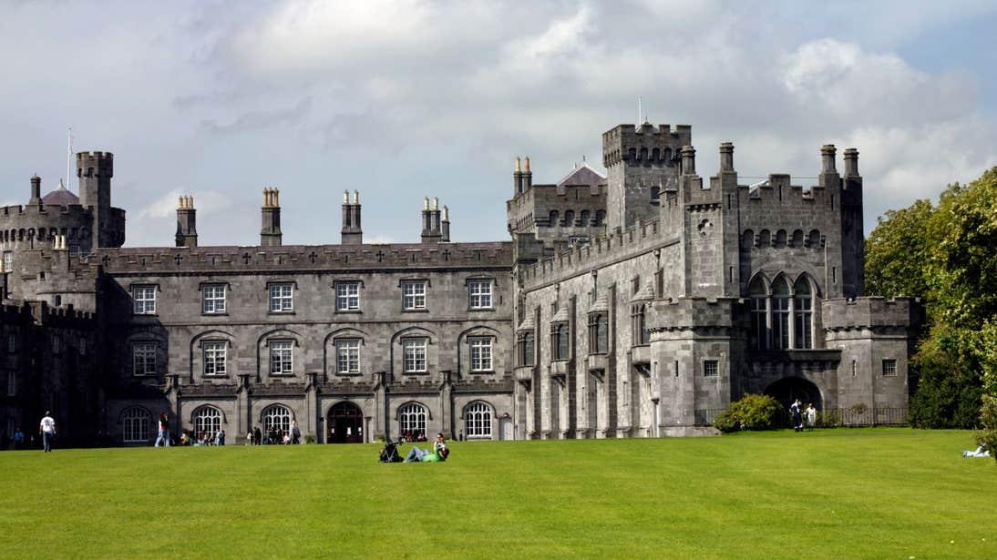 Lawns outside Kilkenny Castle, Kilkenny