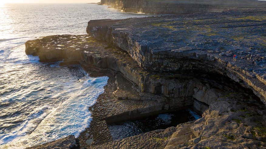 Plan a day trip to the Aran Islands on your holiday in Galway.