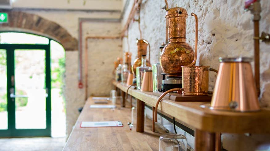 Learn how to make your favourite drink at Listoke Distillery.