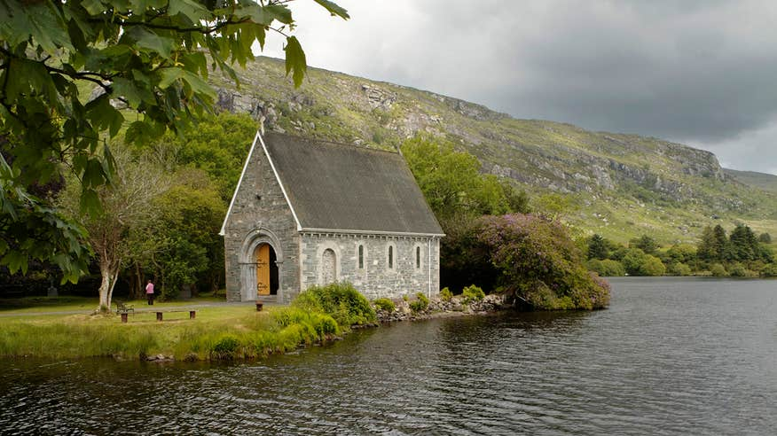 Discover St Finbarr's Oratory in Gougane Barra Forest Park.