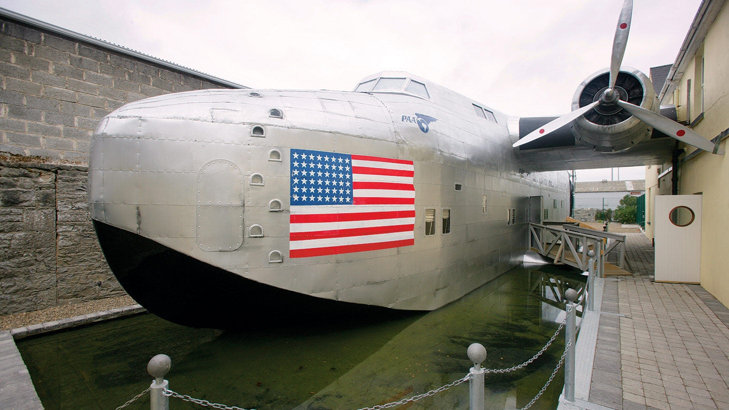 Visit the Foynes Flying Boat Maritime Museum.