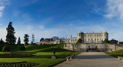 View of Powerscourt House and Gardens, County Wicklow