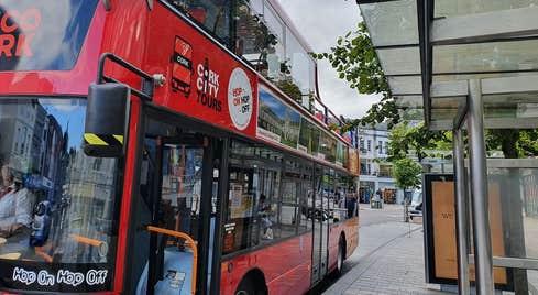 Cork City Tour Bus open top
