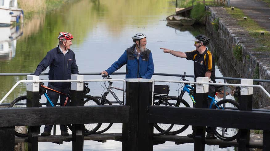 Cycle the Royal Canal Way from Dublin's north-side to Abbeyshrule in County Longford.