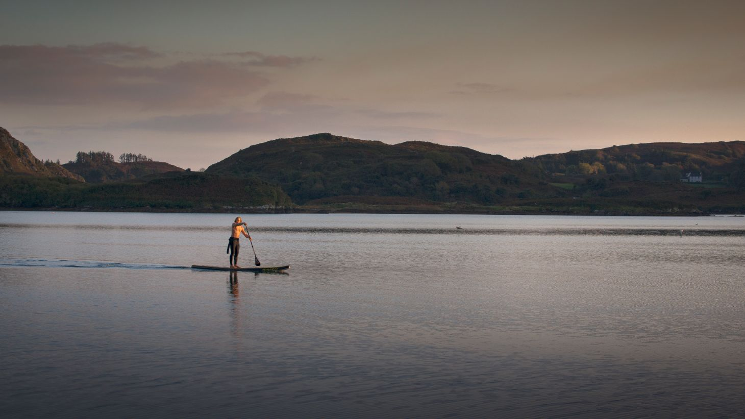 Paddle across Lough Hyne long after the sun has set.