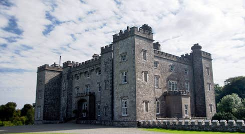 An exterior view of stunning Slane Castle in Meath