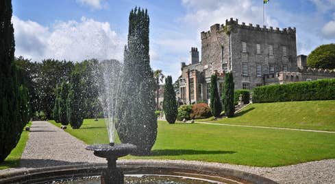 Fountain At Huntington Castle And Gardens County Carlow
