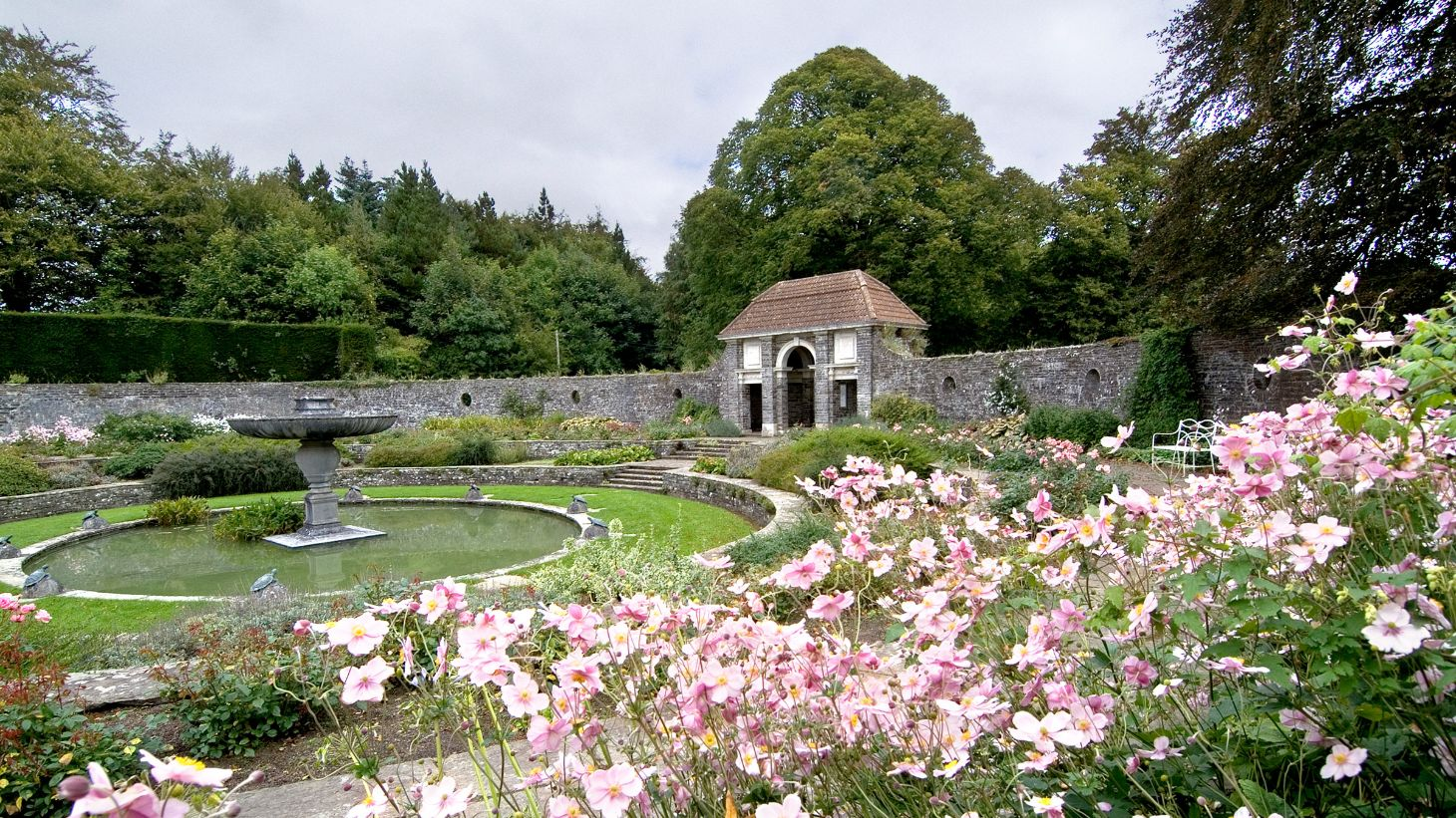 Explore the 50 acres of stunning gardens, lakes and woodland of Heywood Gardens.