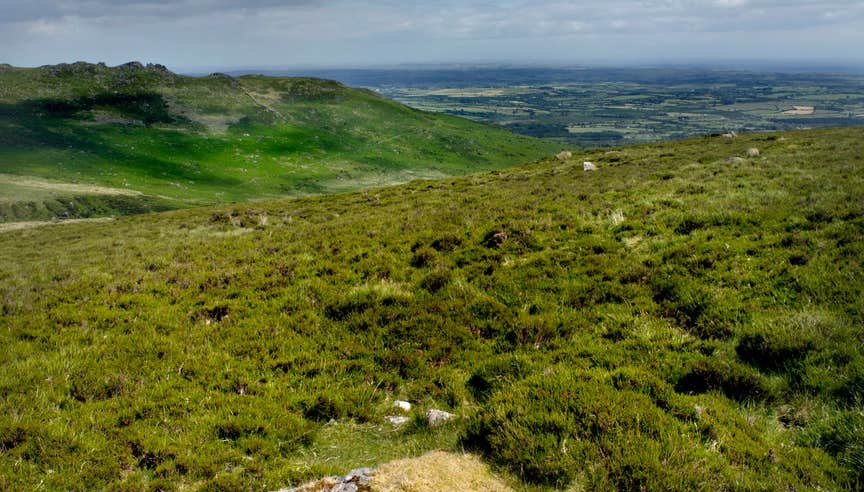 Image of the Comeragh Mountains in County Waterford
