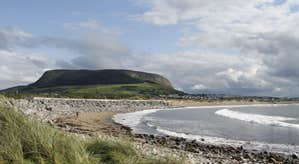 Image of walkway with views of Knocknarea