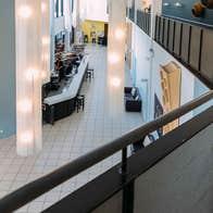 Foyer at glór Irish Music Centre Ennis County Clare