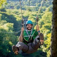 Image of Zipline and High Rope Course at Castlecomer Discovery Park