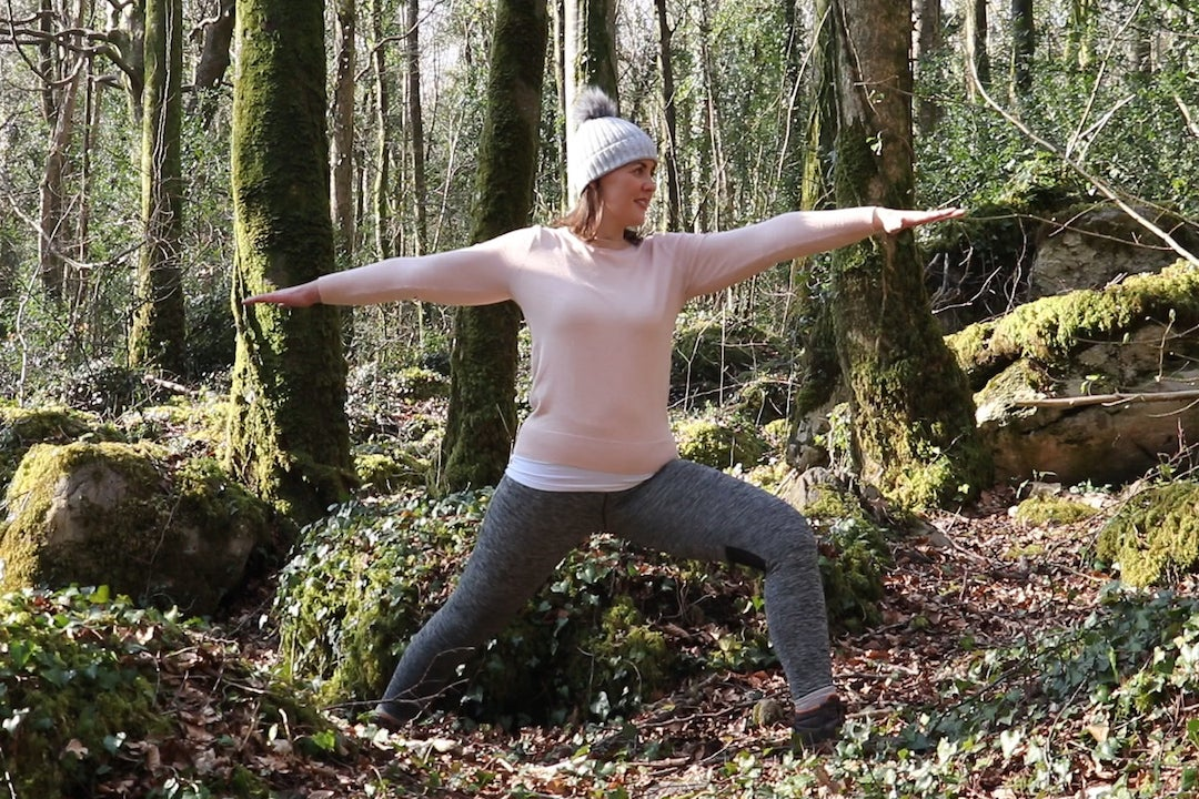 Yoga and forest-bathing and picnic in the Burren