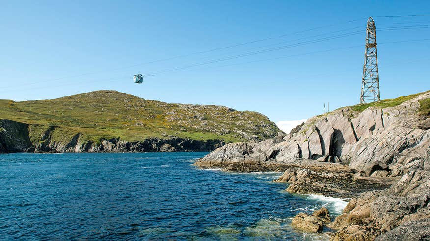 Take a ride in a cable car on Dursey Island on the Beara Peninsula.
