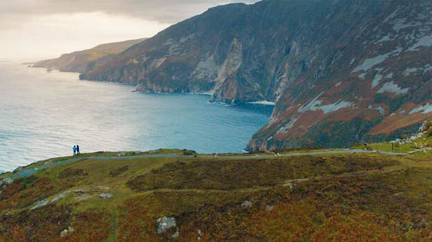 Visit the highest accessible sea cliffs in Europe, Sliabh Liag in Donegal.
