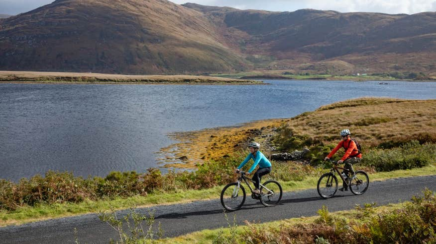 Escape to remote County Mayo on the Great Western Greenway.