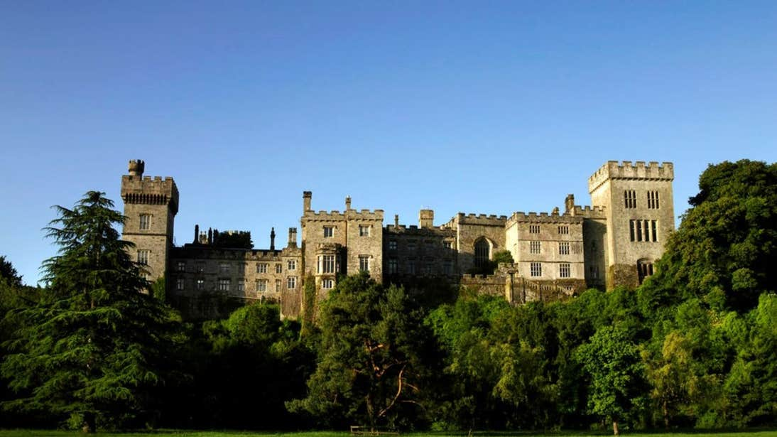 A view of Lismore Castle, Waterford