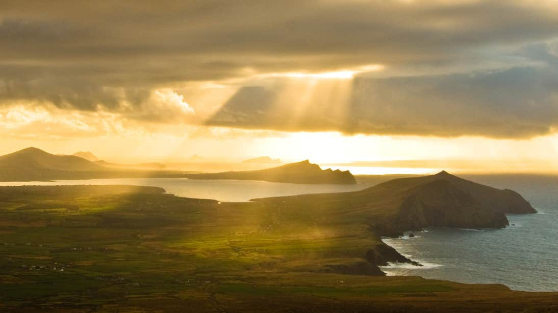 Sunset on Dingle Peninsula, Kerry