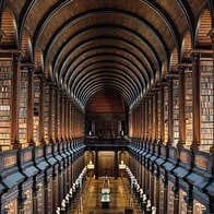 The Book of Kells library long room