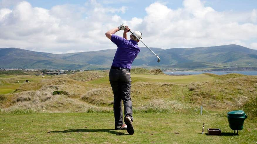 Take a visit to Waterville Golf Links in County Kerry.