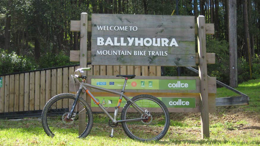 Grab your bike and hit the trails.