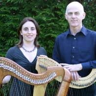 Musicians Gráinne Hambly & William Jackson
