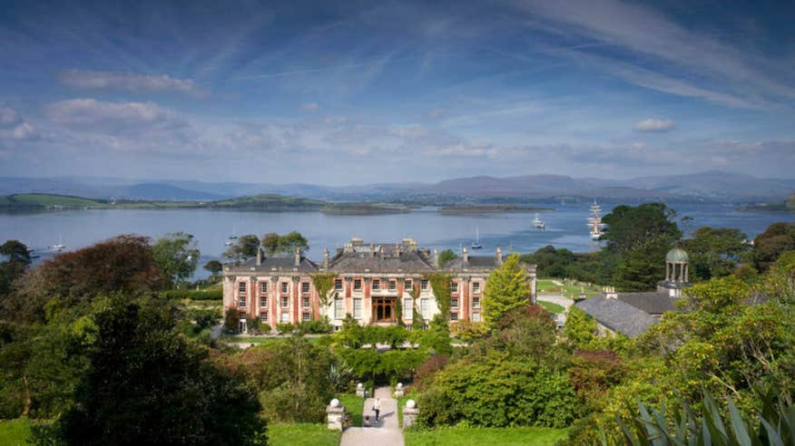 Visit the beautiful gardens of Bantry House.