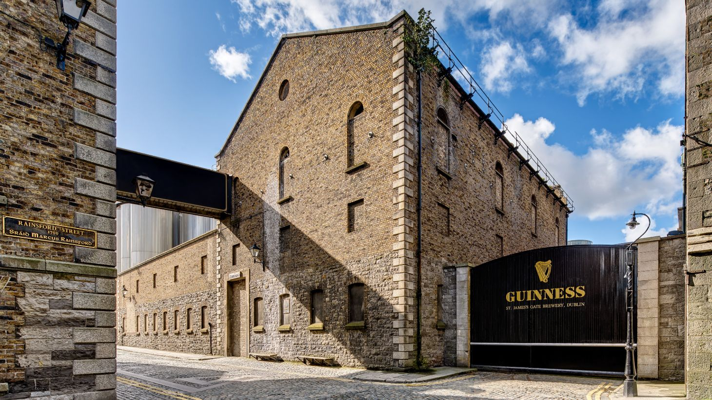 Treat yourself to a tour of the Guinness Storehouse and see the wonderful buildings.