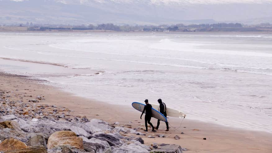 Catch your first wave on Strandhill Beach in Sligo.