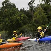 Kayaking with the UL Sport Adventure Centre