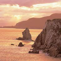 Sea Cliffs in Achill Island, County Mayo