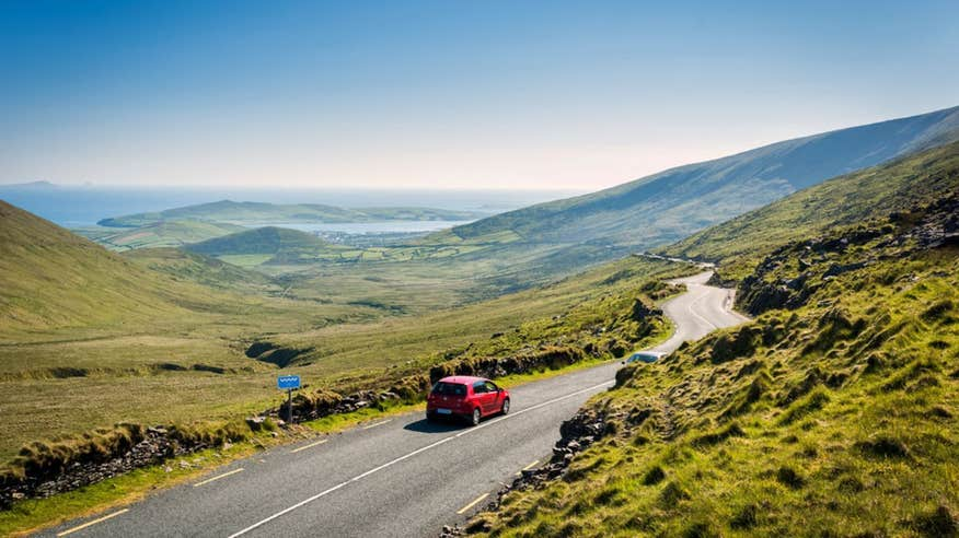 Take a drive through the incredible Conor Pass on your short break in Kerry.