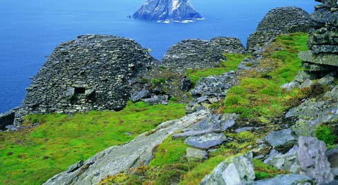 Image of Skellig Islands in County Kerry