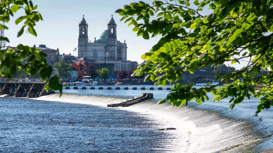 Make sure you visit historic Athlone in Westmeath.