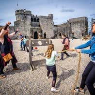 King John's Castle Courtyard, guided tour for Heritage Week
