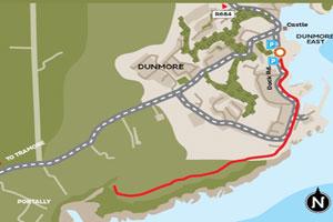 Dunmore East - Coastal Walk Map