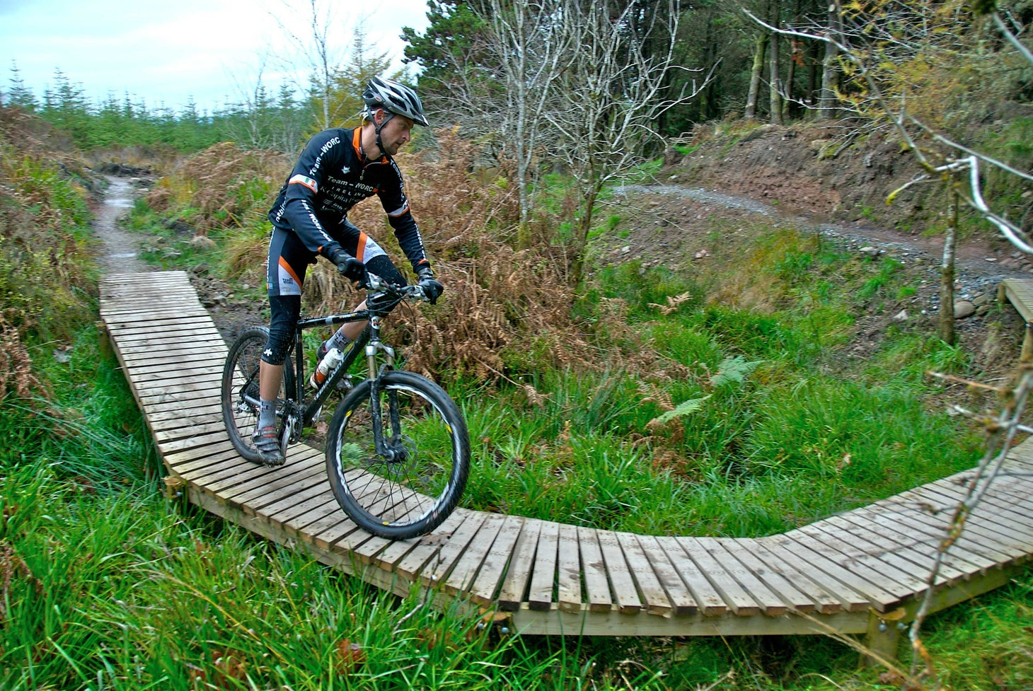 Check out the thrilling bike trails at Ballyhoura.