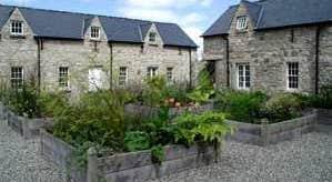 Herb Garden at Kilgraney House