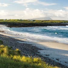 Image of a beach in Belmullet in County Mayo