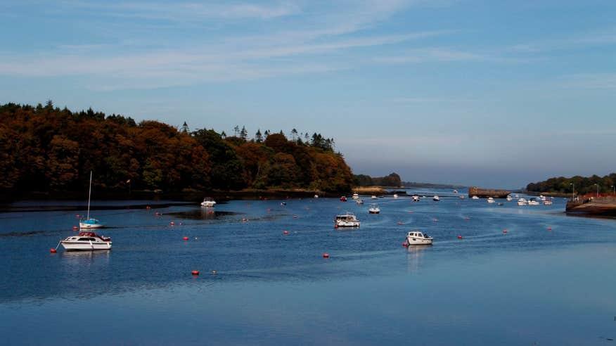 Experience the beauty of Ballina in County Mayo.
