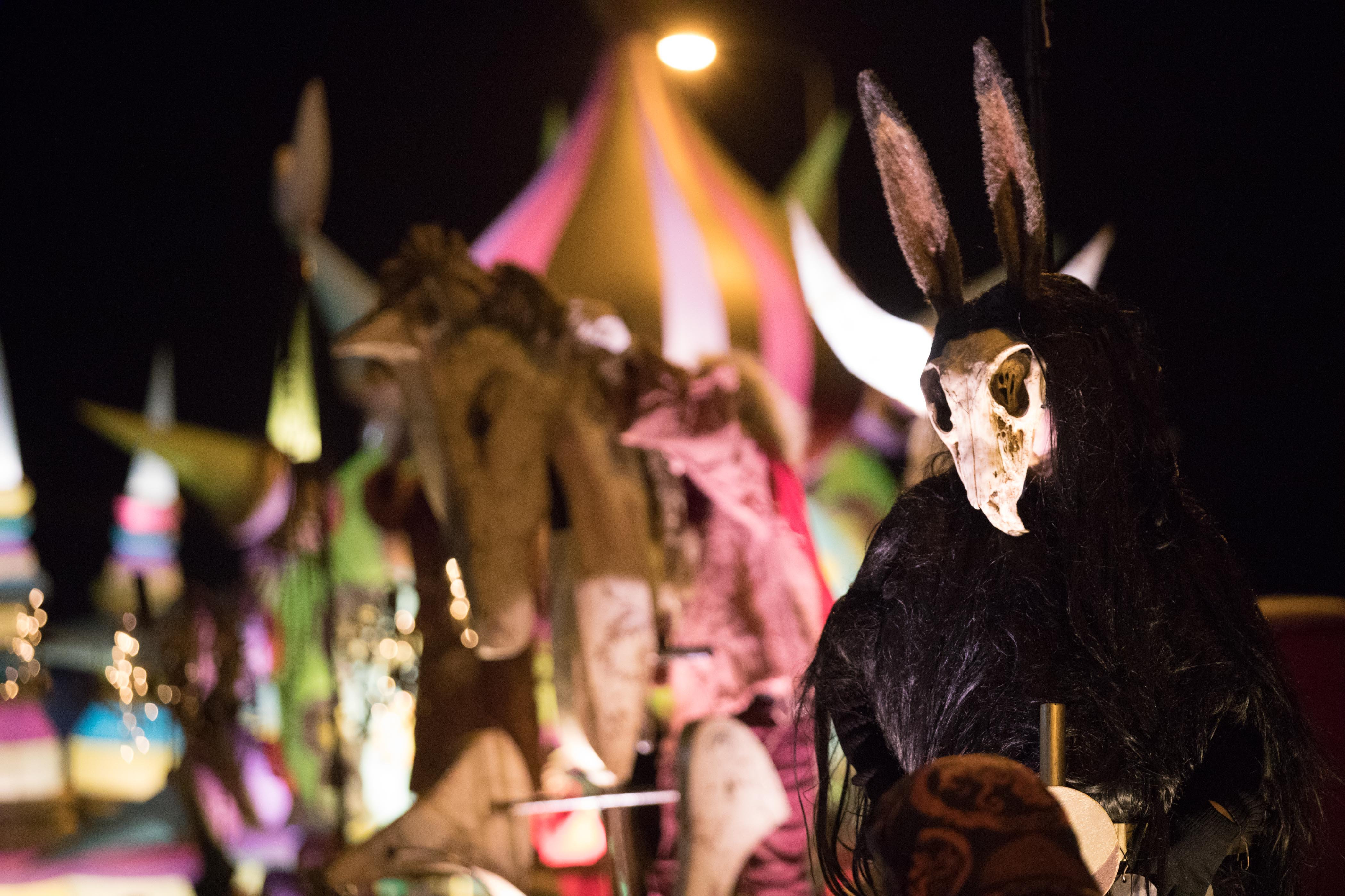 When light turns to dark and the veil between the worlds of the living and the dead thins, the creatures of Samhain, Ireland's ancient New Year, come to life at Púca Festival.