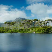 Landscape at Connemara, County Galway