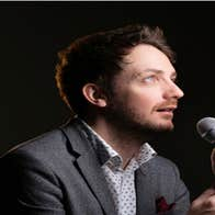 Comedian Danny O'Brien with his show Reformer